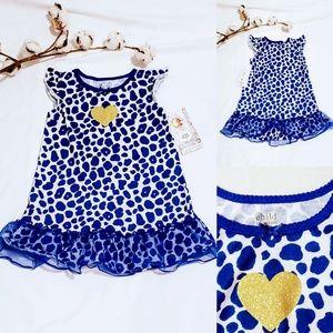 🎉 Child of Mine leopard print dress 3T